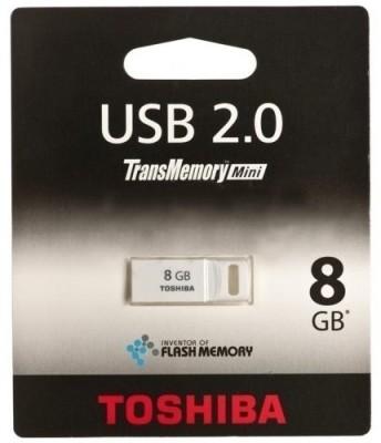 Toshiba Suruga 8 GB Utility Pendrive (White)