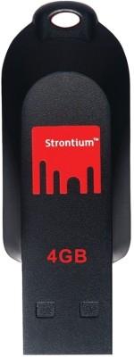 Strontium Pollex 4 GB Pen Drive (Black)