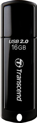 Transcend JetFlash 350 32 GB Pen Drive (Black)