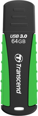 Transcend Jet Flash 810 64 GB Pen Drive (Green)