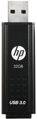 HP x705w 32 GB USB 3.0 Utility Pendrive (Black)