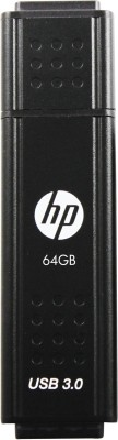 HP X705 64 GB Pen Drive (Black)