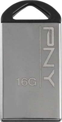 PNY Mini M1 16 GB Pen Drive (Grey)