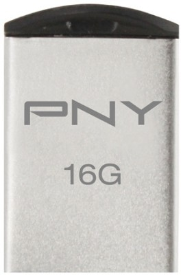 PNY USB Flash Drive Micro M1 Attache 16 GB 16 GB Utility Pendrive (Silver)