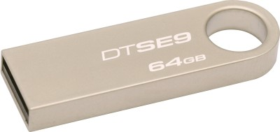 Kingston DataTraveler SE9 32 GB Utility Pendrive (Silver)