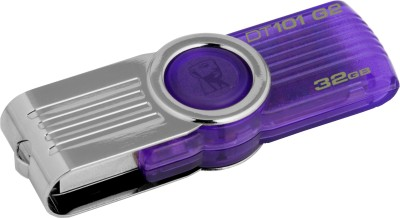 Kingston Data Traveler 101 G2 32 GB Utility Pendrive (Purple)