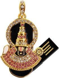 Enter USB Flash Drive 4GB (Venkateswara) 4 GB  Pen Drive - Black
