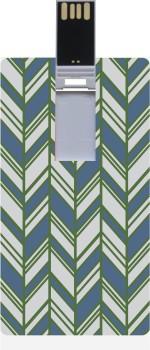Garmor GRPd_298 Designer Printed Credit Card Shape 8GB Pendrive