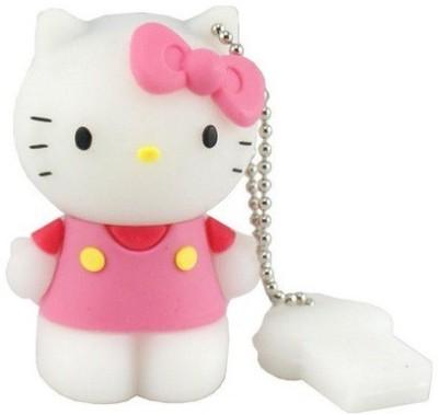 Quace Cute Hello Kitty 16 GB  Pen Drive (Multicolor)