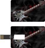 HD ARTS Skull Guitar