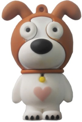 Super-IT Dog Shaped 8 GB Pen Drive Brown