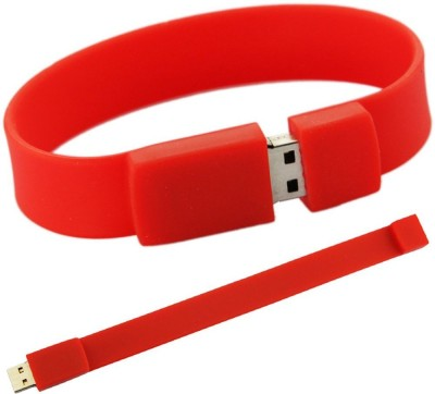 XElectron Wrist Band 8 GB  Pen Drive (Red)
