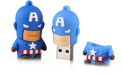The Fappy Store TFPD26_8GB 8 GB  Pen Drive (Multicolor)