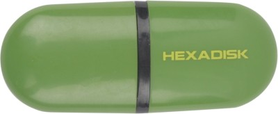 Hexadisk PD01127 16 GB  Pen Drive (Green)