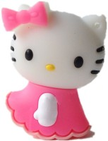 Quace Hello Kitty 4 GB  Pen Drive (Pink)