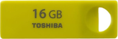 Toshiba ENSHU 16 GB  Pen Drive (Yellow)