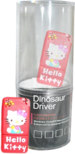 Dinosaur Drivers Kitty Red