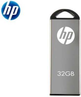 HP v220W 32 GB  Pen Drive (Grey)