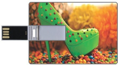 Design worlds Green DWPC88084 8 GB  Pen Drive (Multicolor)