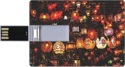 Via Flowers Llp Mixed Colors VPC86004 8 GB  Pen Drive (Multicolor)