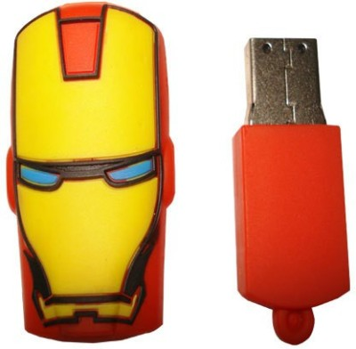 QP360 Transformers 8 GB  Pen Drive (Multicolor)
