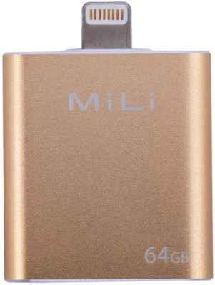 MiLi iData 64 GB  Pen Drive (Gold)