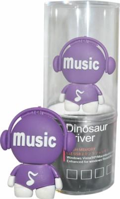 Dinosaur Drivers Music 16 GB Pen Drive (Blue)