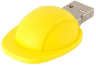 Microware Yellow Halmet 16 GB  Pen Drive (Yellow)