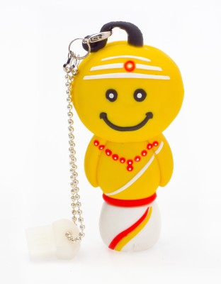 Urumi U208 8 GB  Pen Drive (Yellow)