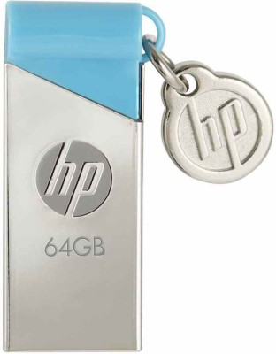 HP V215B 64 GB  Pen Drive (Blue)