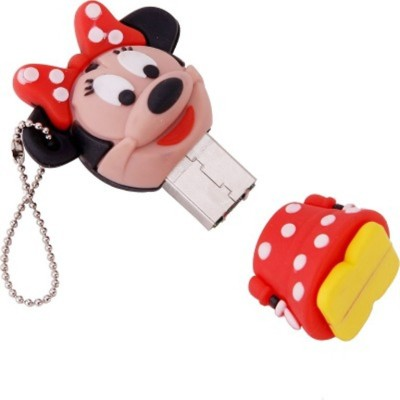 Yescelebration Minnie Mouse 8 GB  Pen Drive (Red)