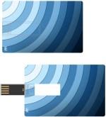 Print Shapes Astract pattern circles Credit Card Shape