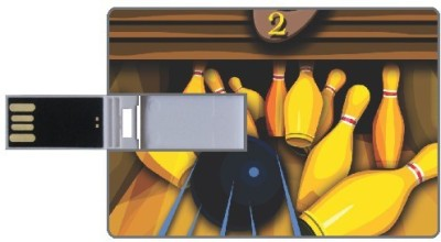 Design worlds Bowling DWPC88072 8 GB  Pen Drive (Multicolor)