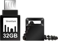 Strontium 32GB NITRO ON-THE-GO (OTG) USB 3.0 FLASH DRIVE 32 GB  Pen Drive (Black)