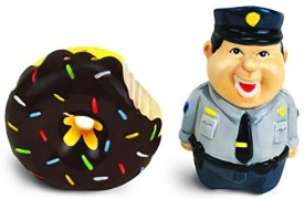 BigMouth Inc Bad Cop No Donut Salt And Pepper Shaker Set
