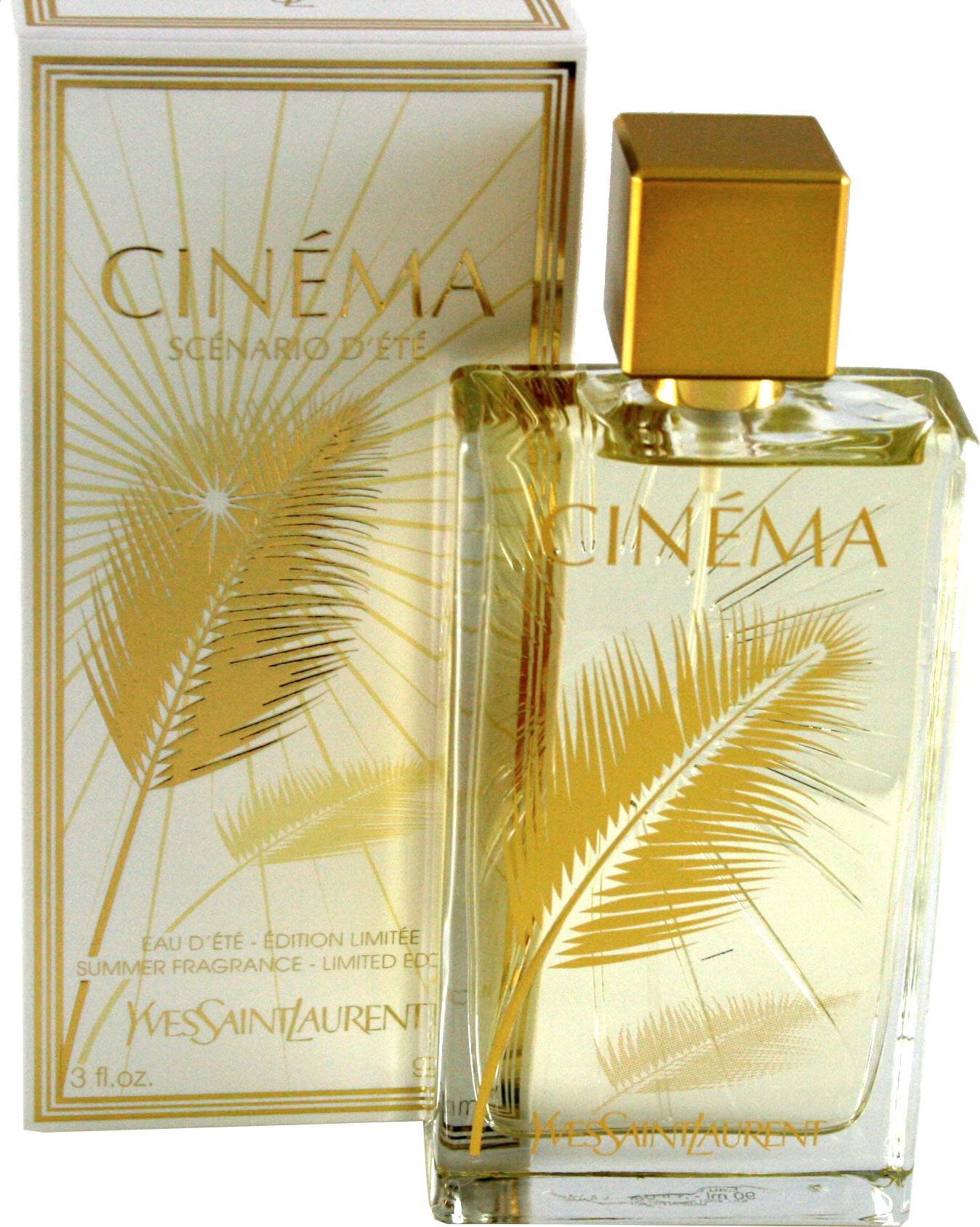 Buy Yves Saint Laurent Cinema Summer Fragrance Eau De Toilette 90