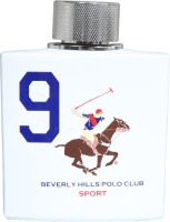 Beverly Hills Polo Club Sport No 9 Eau De Toilette  -  100 Ml (For Men)