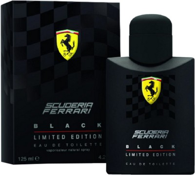 Ferrari Scuderia Black Limited Edition Eau de Toilette - 125 ml For Men