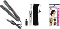 Style Maniac Hair Straightener And Eyebrow/ Ear/nose Hair-remover With Hairstyle Booklet Personal Care Appliance Combo (Hair Straightener, Nose Trimmer)