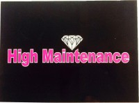 Funcart High Maintenance Photo Booth Board (Party)