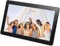 Merlin Wi-Fi Digital Photo Frame 10.1 Inch Digital (4 GB, Black)