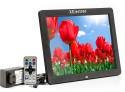 XElectron 1200XE 12 Inch Digital Photo Frame (128 MB, Black)