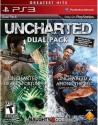 Uncharted Dual Pack : Uncharted : Drake's Fortune / Uncharted 2 : Among Thieves Game Of The Year Edition - For PS3