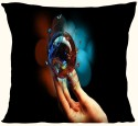 Active Elements Comforting 12 Inch Both Side Printed High-end Cushion For Your Home & Car.Pillow With The Soft Virgin Poly Insert D.No-12514 Newest Of 2014 Pillow