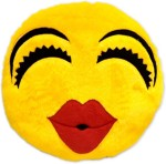 ART N SOUL Smilie Decorative Cushion