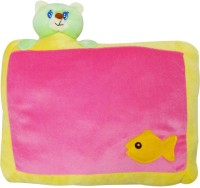 Wonderkids Simple Bed/Sleeping Pillow (Pink, 1 Pillow)