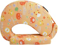 Momtobe Printed Feeding/Nursing Pillow Pack Of1, Orange