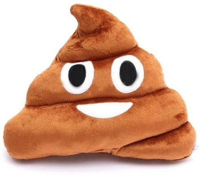 OGO Poop Emoji Decorative Cushion