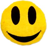 Art N Soul Smiley Decorative Cushion