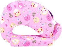 Momtobe Printed Feeding/Nursing Pillow Pack Of1, Pink